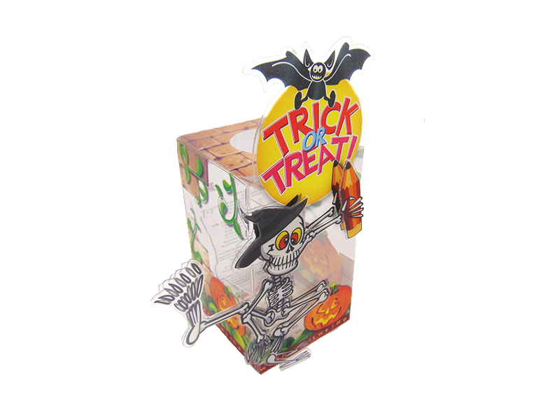 Trick or treat packaging, retail packaging, halloween spooky packaging, kids packaging