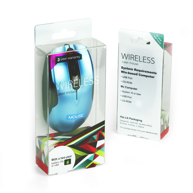 Computer mouse packaging