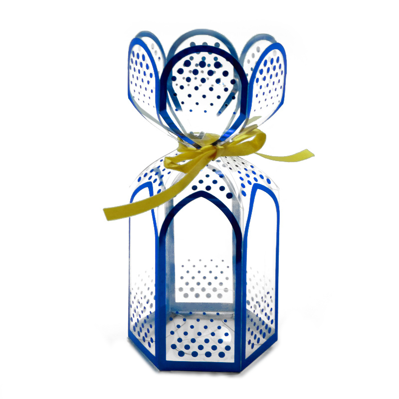 Clear Blue Gift Packaging