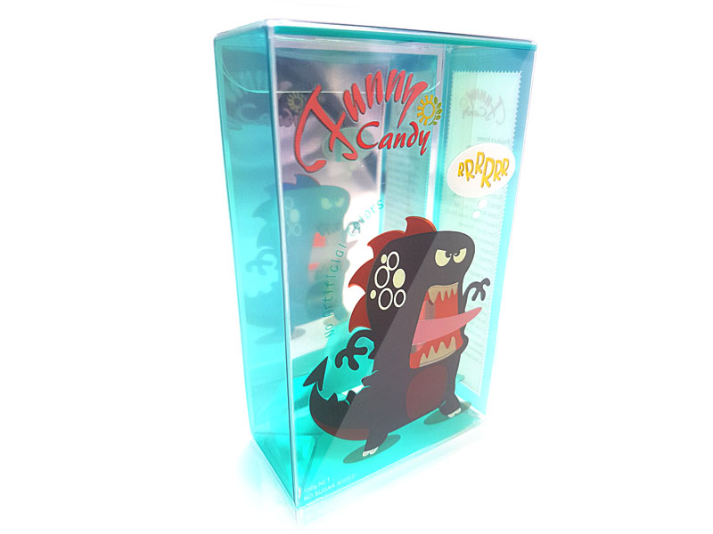 Blue Clear Candy Packaging Base
