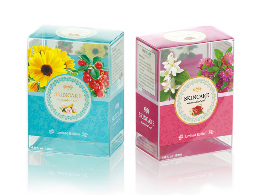 Skincare – Clear packging