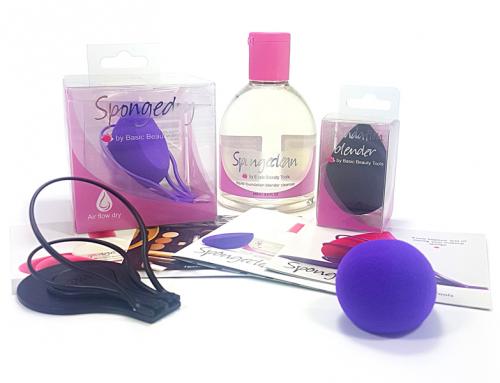 Spongedry – Basic beauty clear packaging
